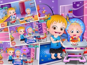 Games Baby Hazel Kitchen Fun