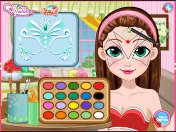 Girlsgogames Games Fairy Face Painting Design